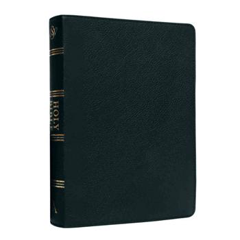 Picture of ESV Standard Index Black Genuine Leather