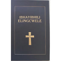 Picture of Ndebele Bible Standard Black Vinyl