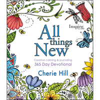 Picture of All Things New Colouring Devotional