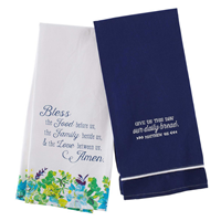 Picture of Cotton Tea Towel Give Us This Day Our Daily Bread