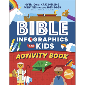 Picture of Bible Infographics For Kids Activity Book