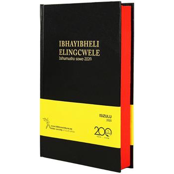 Picture of Zulu Bible 2020 Black Hardcover Medium Size