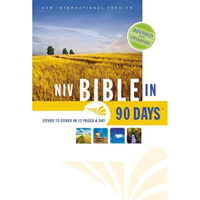 Picture of NIV Bible In 90 Days Hardcover