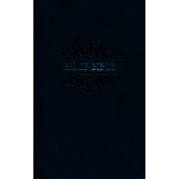 Picture of NIV Holy Bible Soft Touch Edition Black