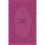 Picture of NIV Holy Bible Soft Touch Edition Pink