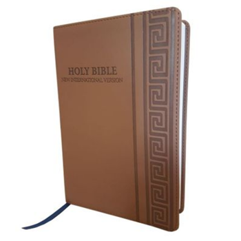 Picture of NIV Standard Bible Leatherlook Mink