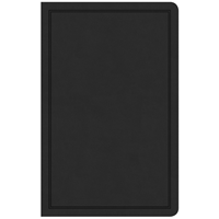 Picture of CSB Deluxe Gift Bible Black Leathertouch