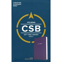 Picture of CSB Gift & Award Bible Purple