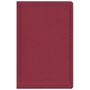 Picture of CSB Deluxe Gift Bible Burgundy Leathertouch