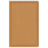 Picture of CSB Deluxe Gift Bible Tan Leathertouch