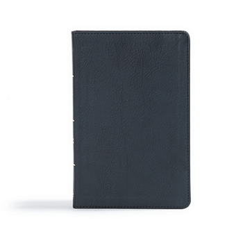 Picture of CSB Ultrathin Reference Bible Black Leathertouch