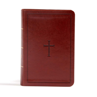 Picture of CSB Large Print Compact Reference Bible Brown