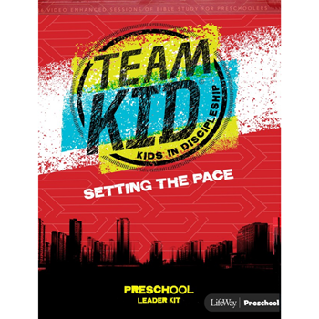 Picture of TeamKid Setting the Pace Preschool Leader Kit