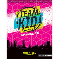 Picture of TeamKID Catching Air Preschool Leader Kit