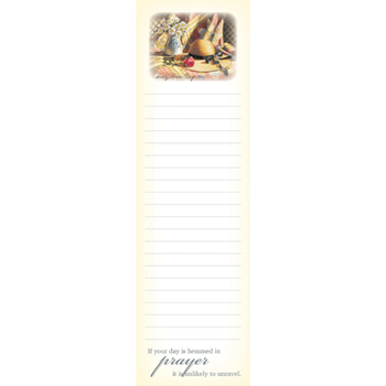 Picture of Magnetic Memo Pad If Your Day Is Hemmed In Pray
