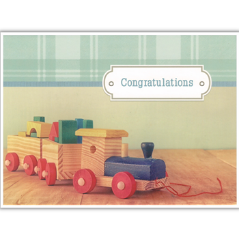 Picture of Card - Baby Arrival