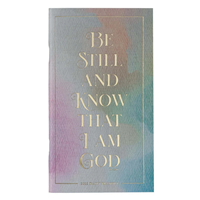 Picture of Be Still Psalm 46:10 (Small Daily Planner 2022)