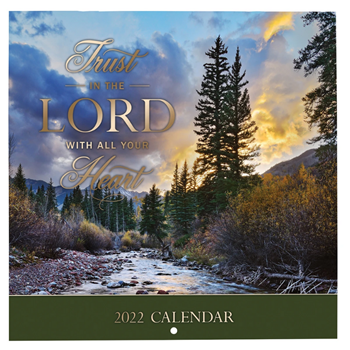 Picture of Trust In The Lord (Small Calendar 2022)