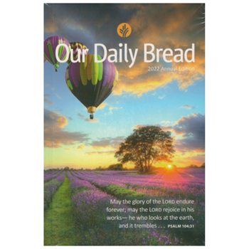 Picture of Our Daily Bread 2022 Annual Edition