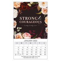Picture of Strong & Courageous Prov. 31:25